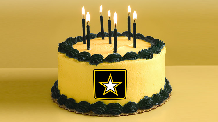 Fantastic Us Army Mwr View Event Commanding Generals Army Birthday Personalised Birthday Cards Paralily Jamesorg