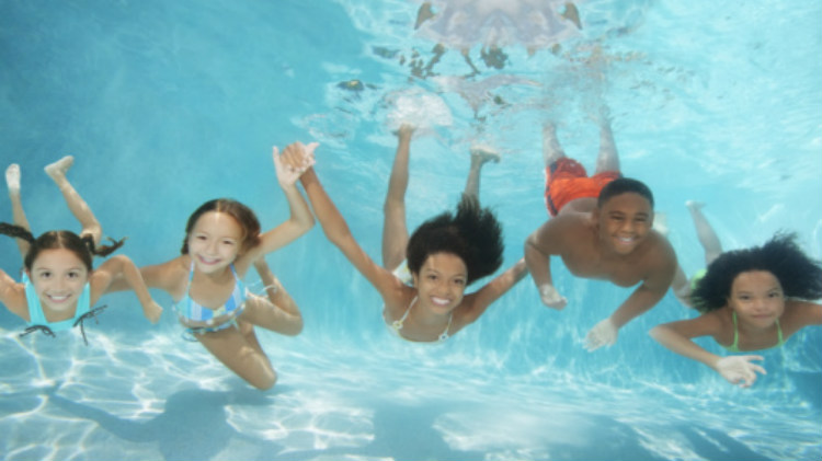Indoor pool for Swimming pool certification course