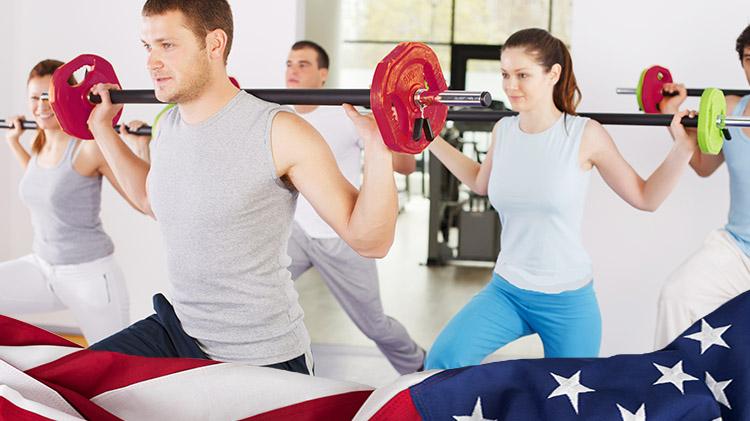 Stars & Stripes Fitness Sampler