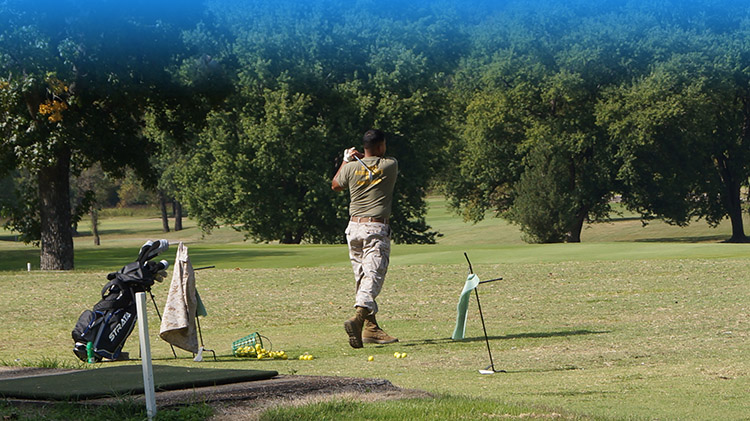 Active Duty Golf Lessons