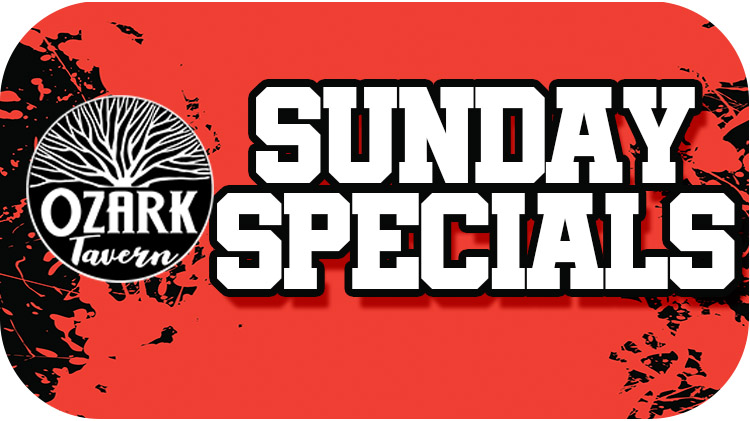 SUSPENDED - Sunday Specials
