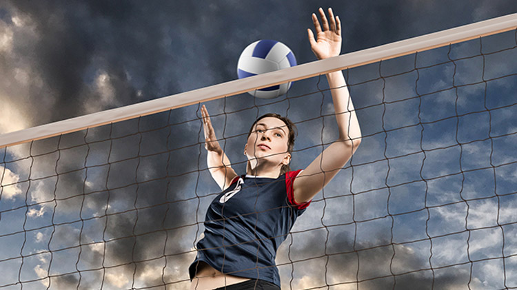Recreational Coed Adult Volleyball League