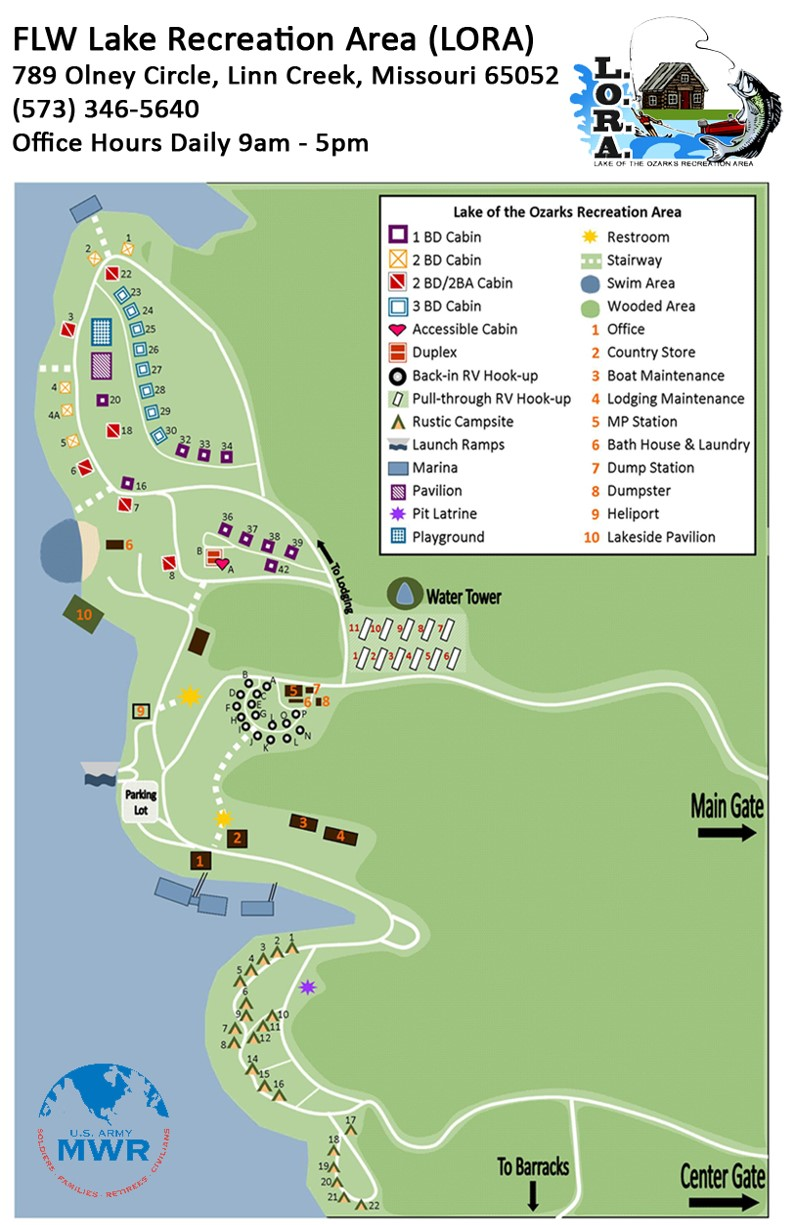 Lake Of The Ozarks Recreation Area Lora