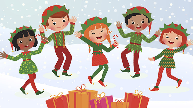 Christmas Dancing Cartoon.Us Army Mwr View Event Christmas Dance Recital