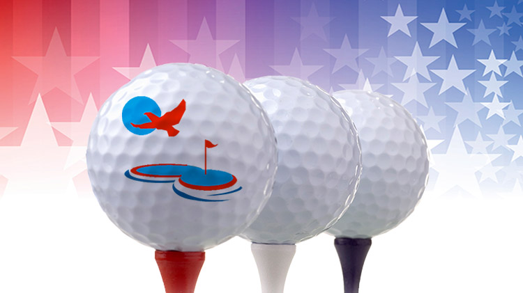 Red, White, and Blue Golf